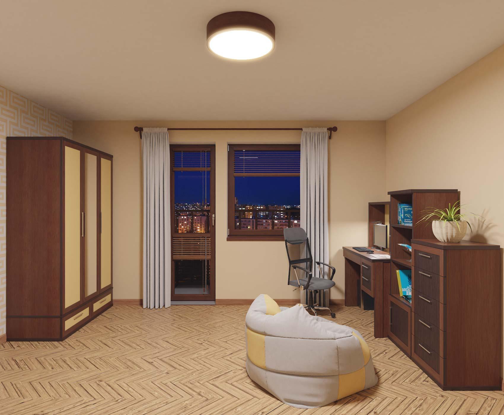 idea3d - vizualizácia detská izba 3