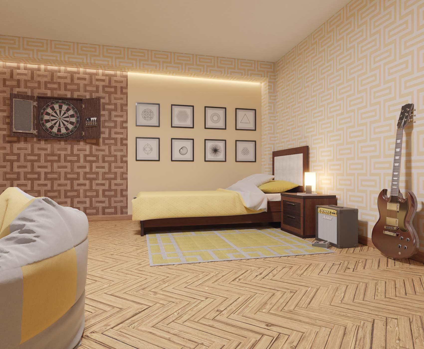 idea3d - vizualizácia detská izba 4
