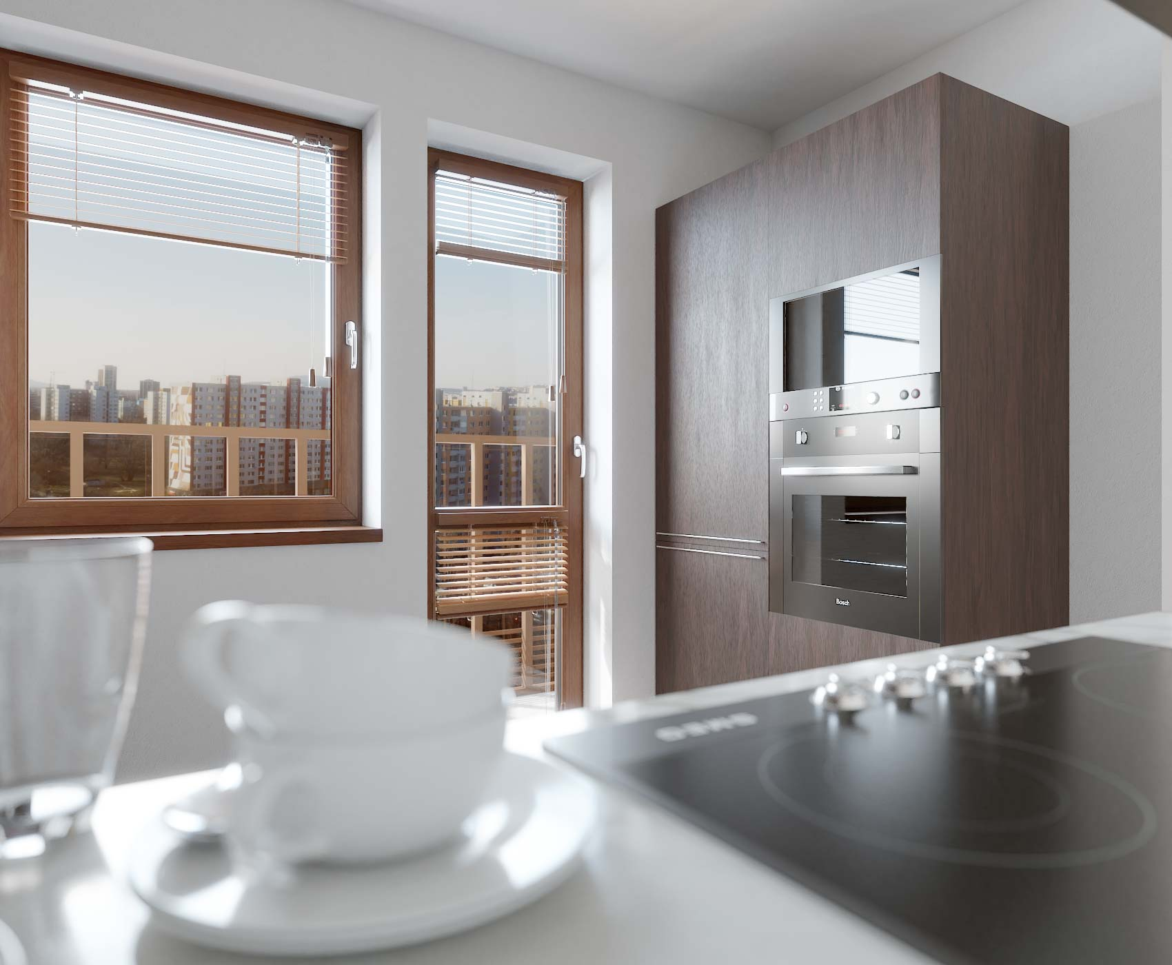 idea3d - vizualizácia kuchyňa 1