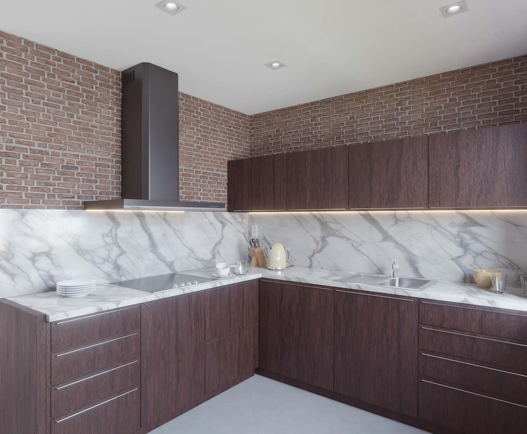 idea3d - vizualizácia kuchyňa 2