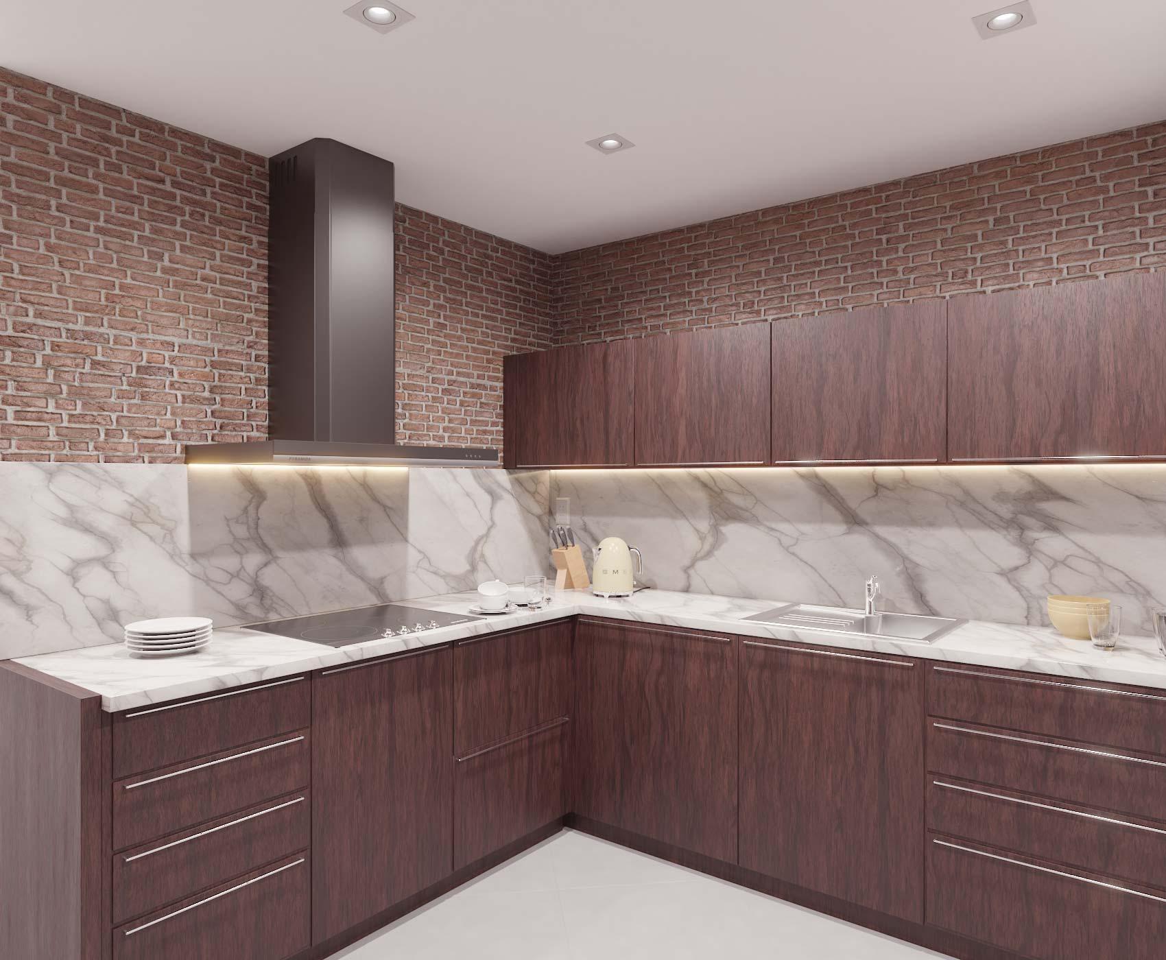 idea3d - vizualizácia kuchyňa 5