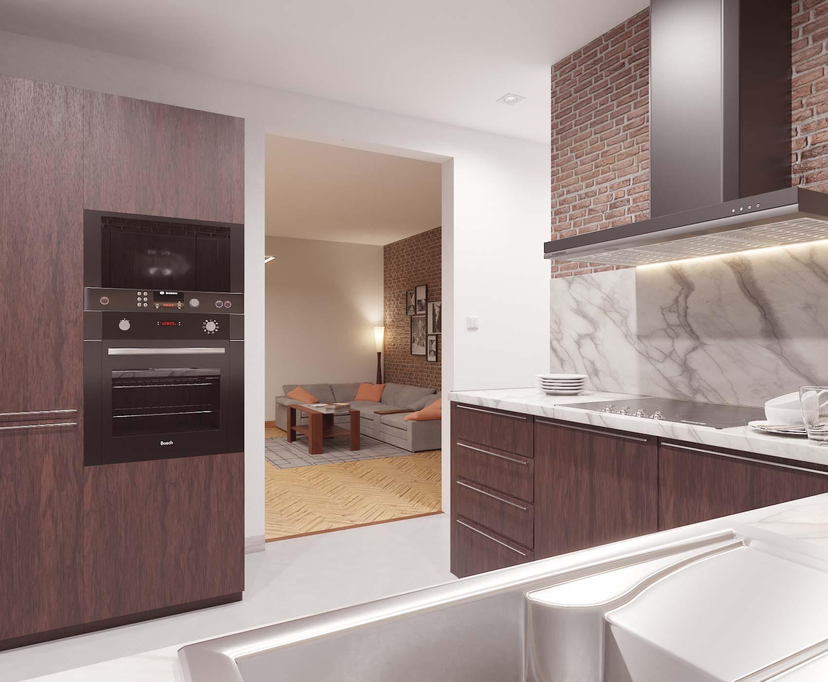 idea3d - vizualizácia kuchyňa 6