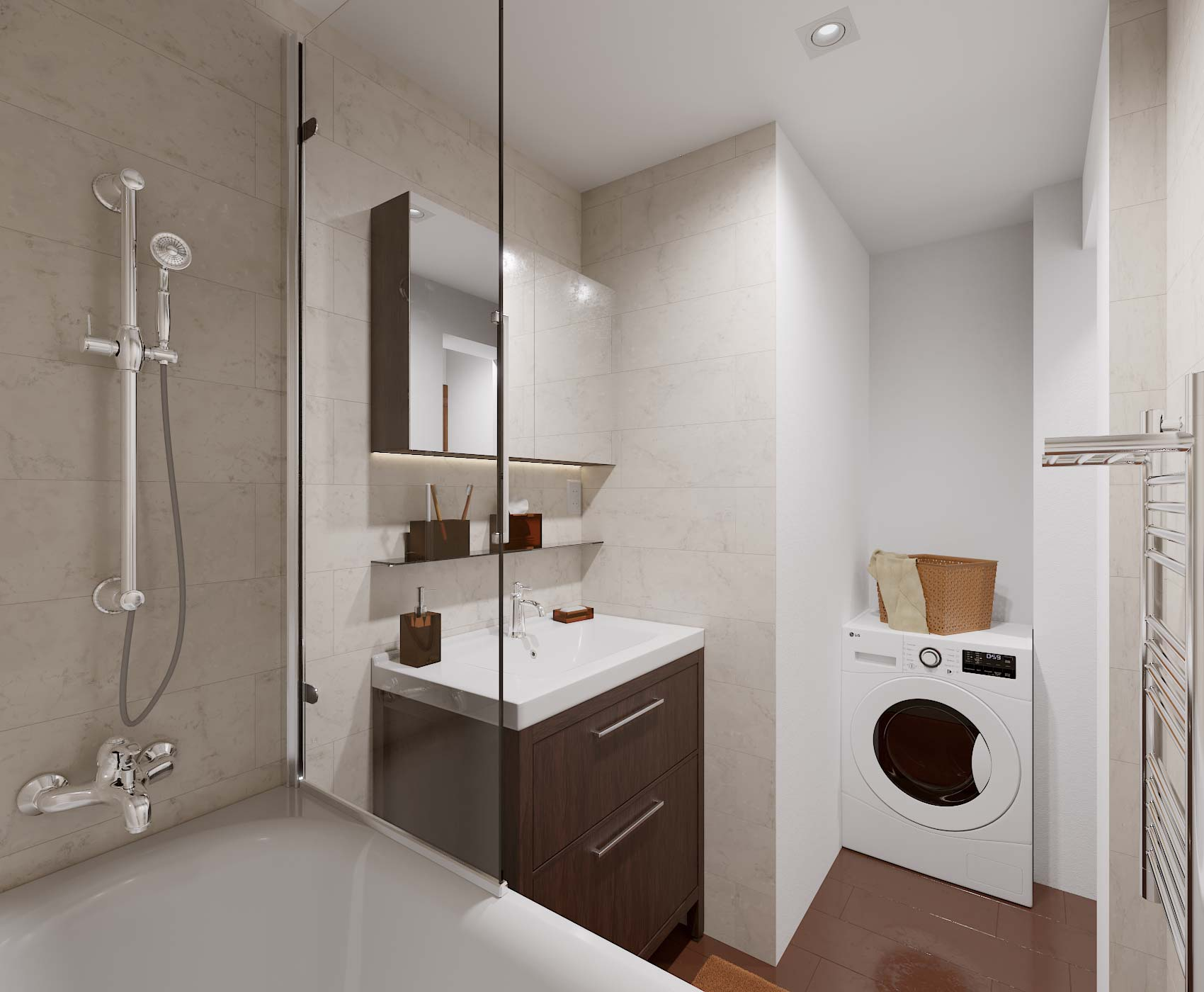 idea3d - vizualizácia kúpeľňa 2
