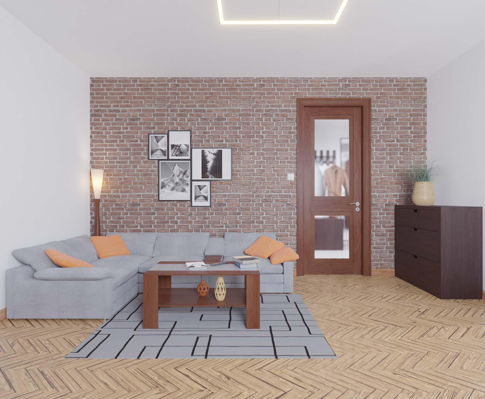 idea3d - vizualizácia obývačka 2