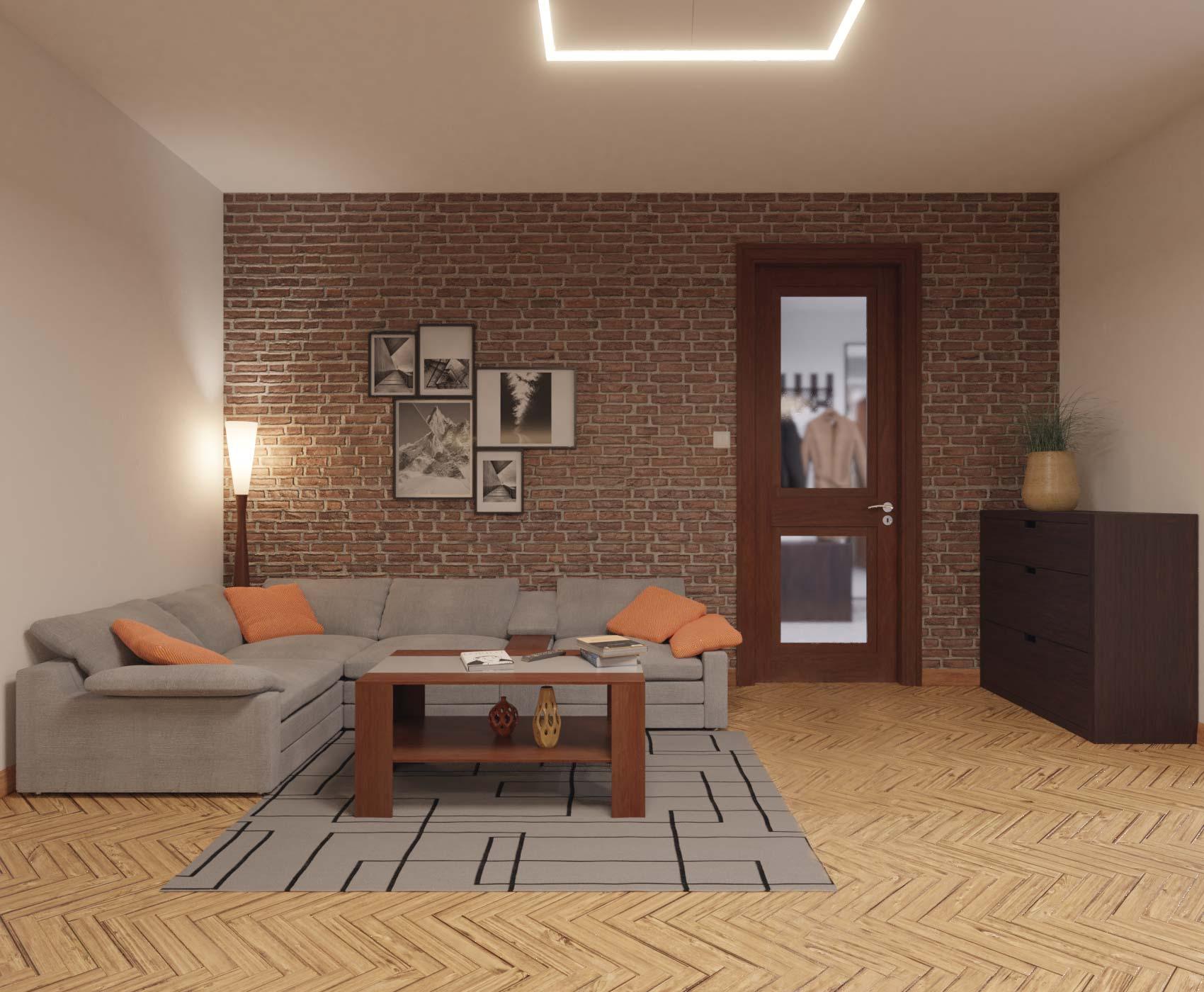 idea3d - vizualizácia obývačka 4