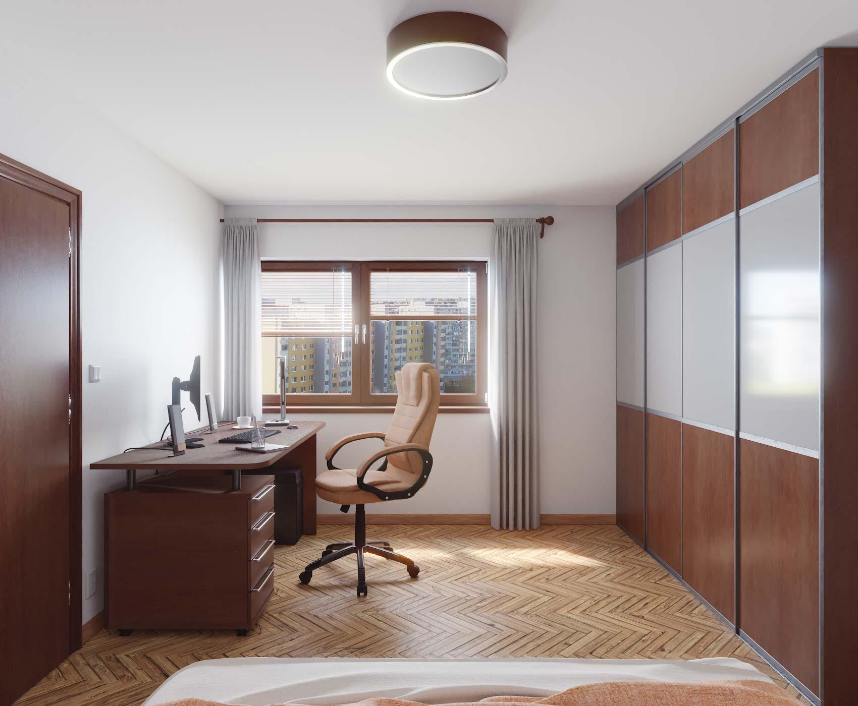 idea3d - vizualizácia spálňa 1