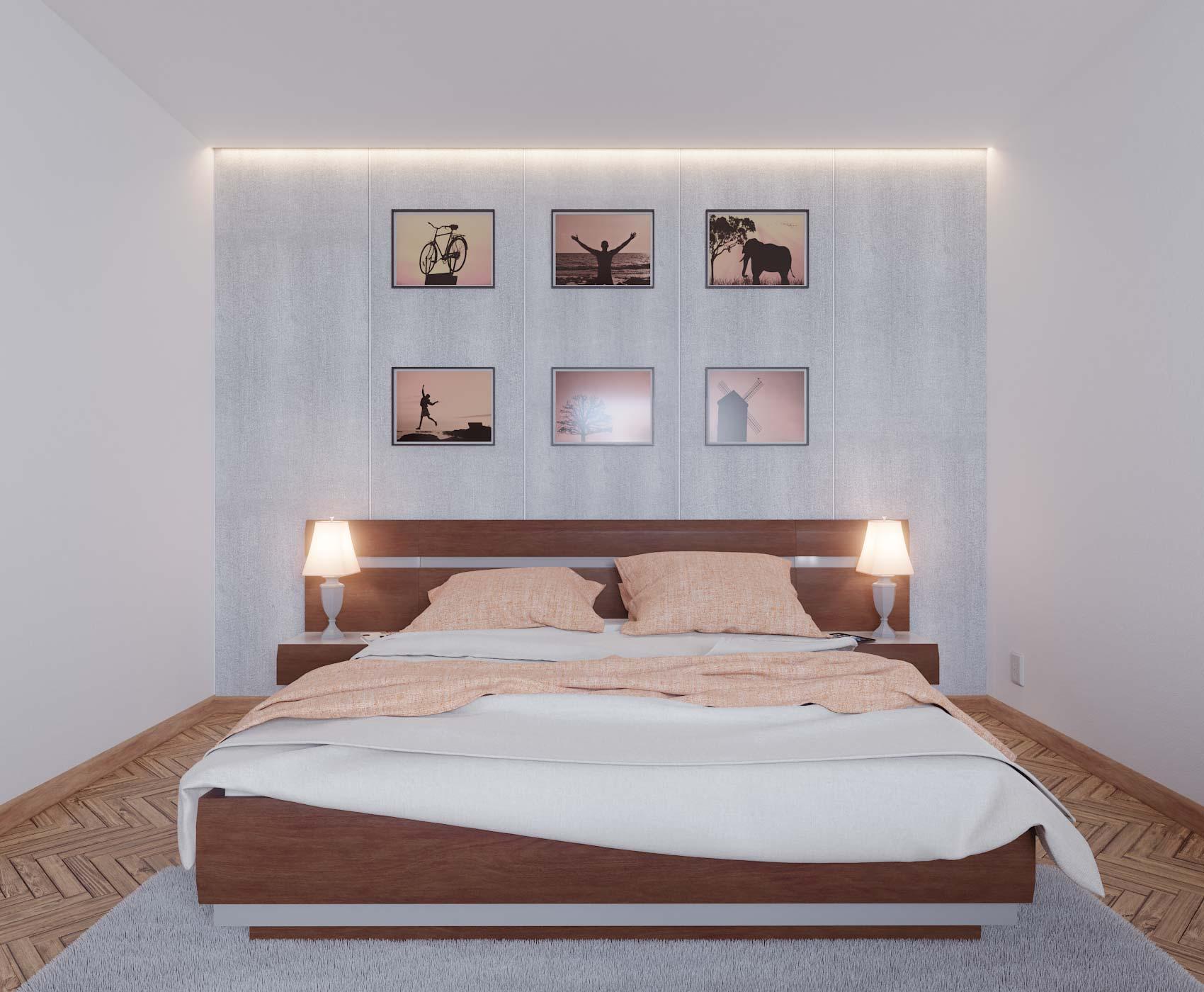 idea3d - vizualizácia spálňa 2