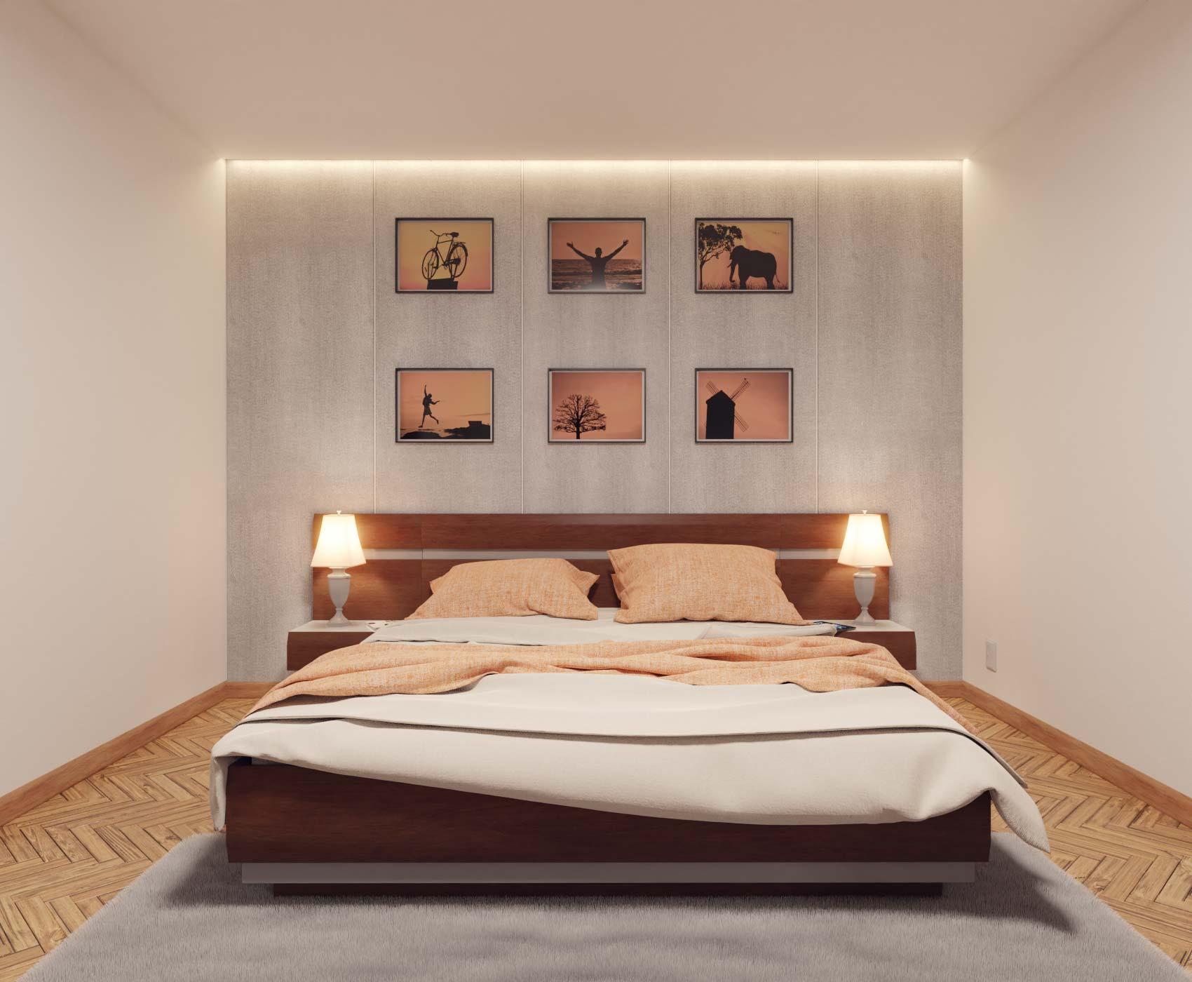 idea3d - vizualizácia spálňa 4