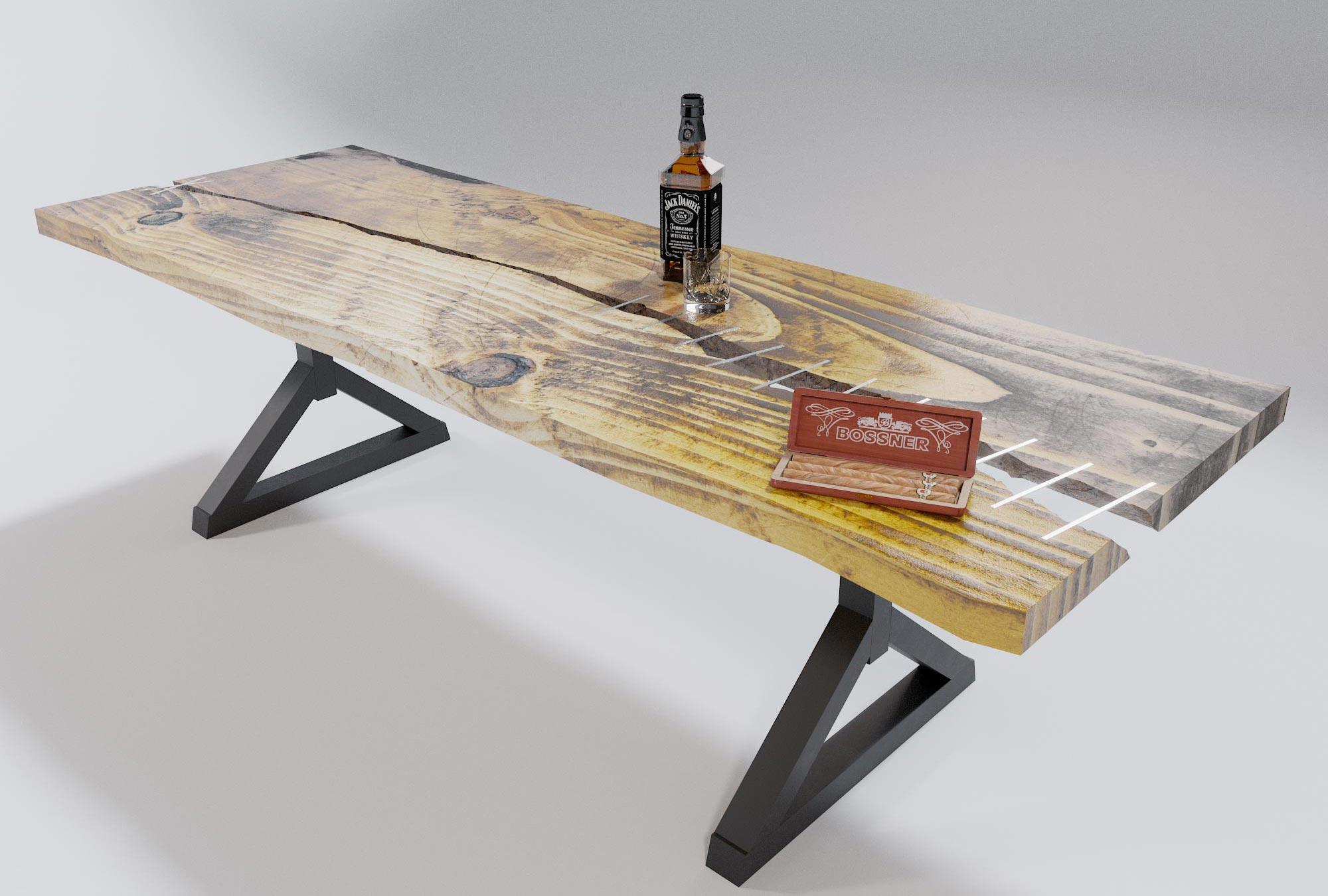 idea3d - vizualizácia luxusného nábytku stôl 1