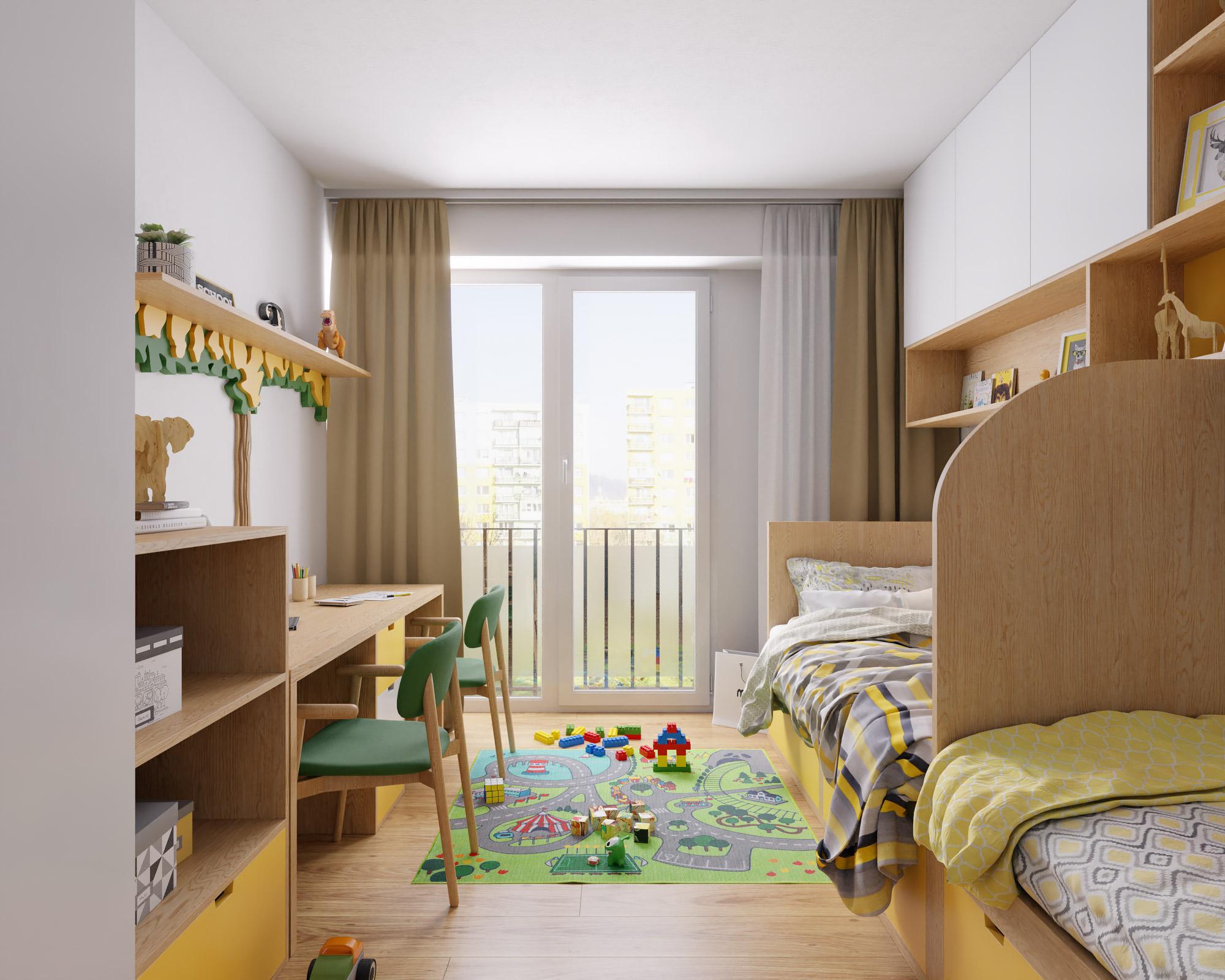 idea3d - vizualizácia detská izba 1 - Nové Vlčince