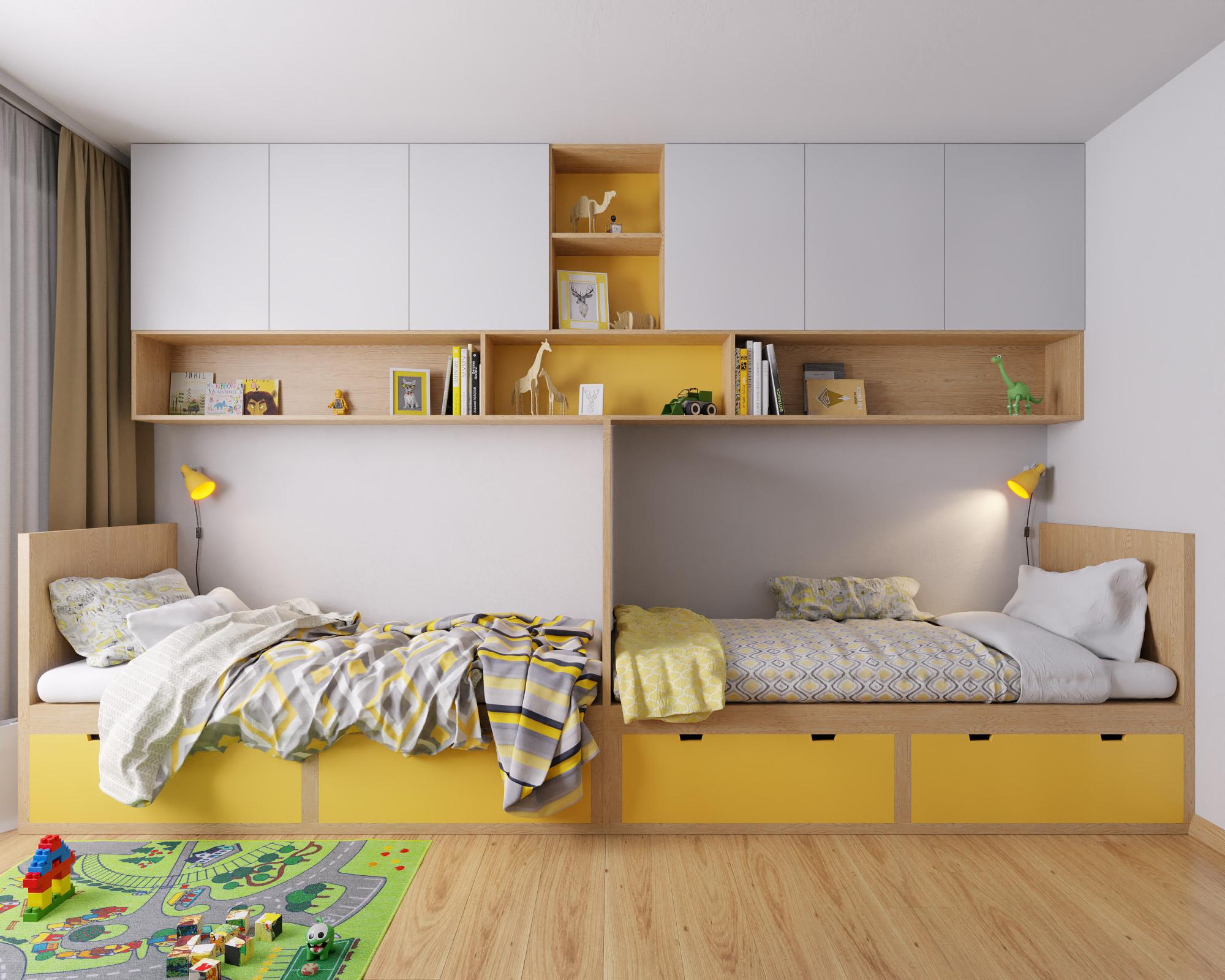 idea3d - vizualizácia detská izba 2 - Nové Vlčince