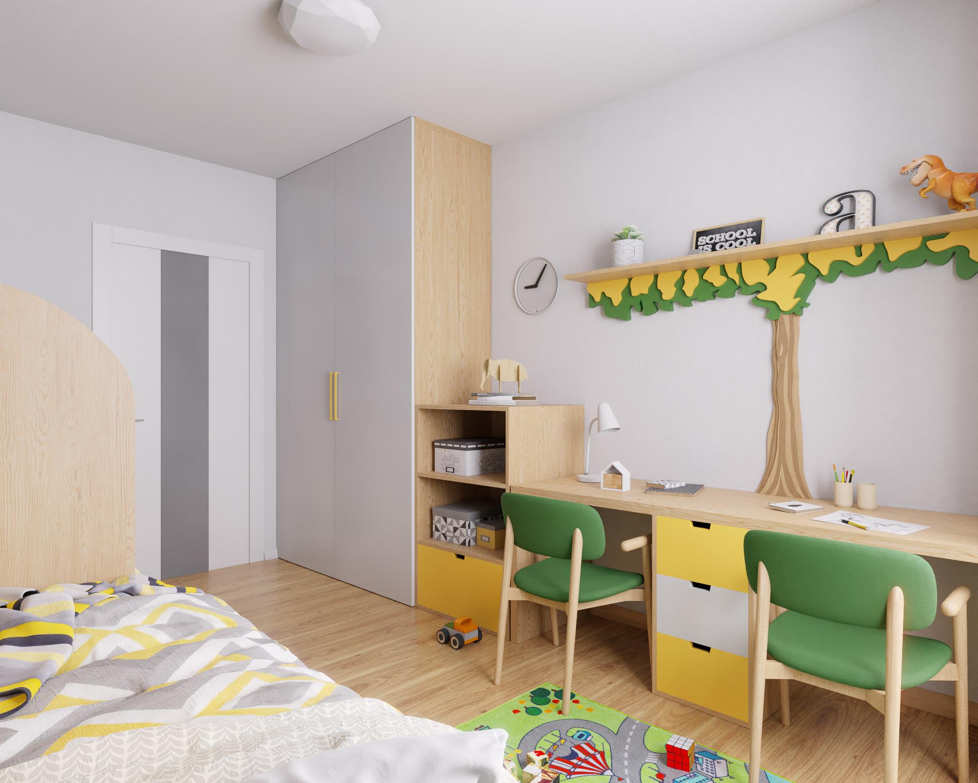 idea3d - vizualizácia detská izba 3 - Nové Vlčince