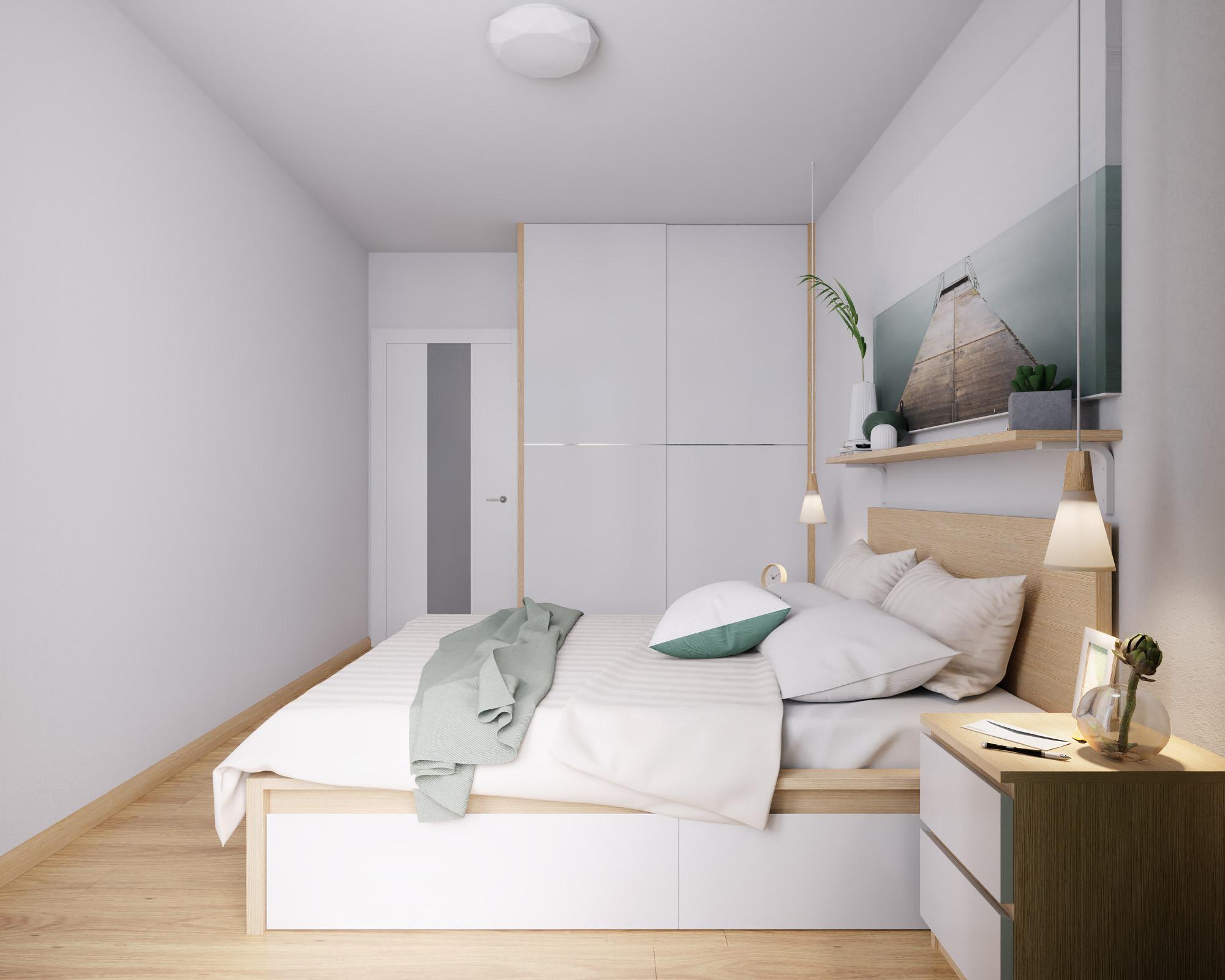 idea3d - vizualizácia spálňa 2 - Nové Vlčince