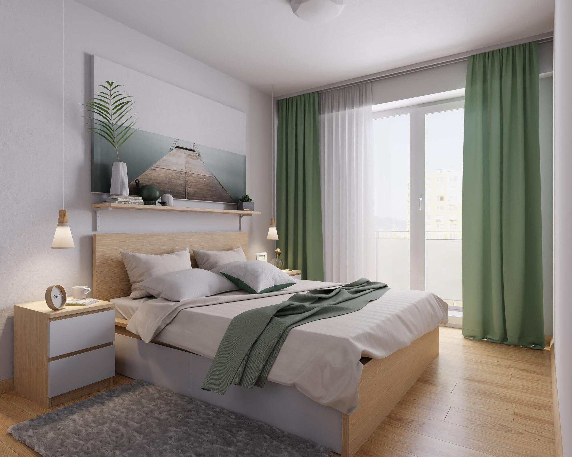 idea3d - vizualizácia spálňa 3 - Nové Vlčince