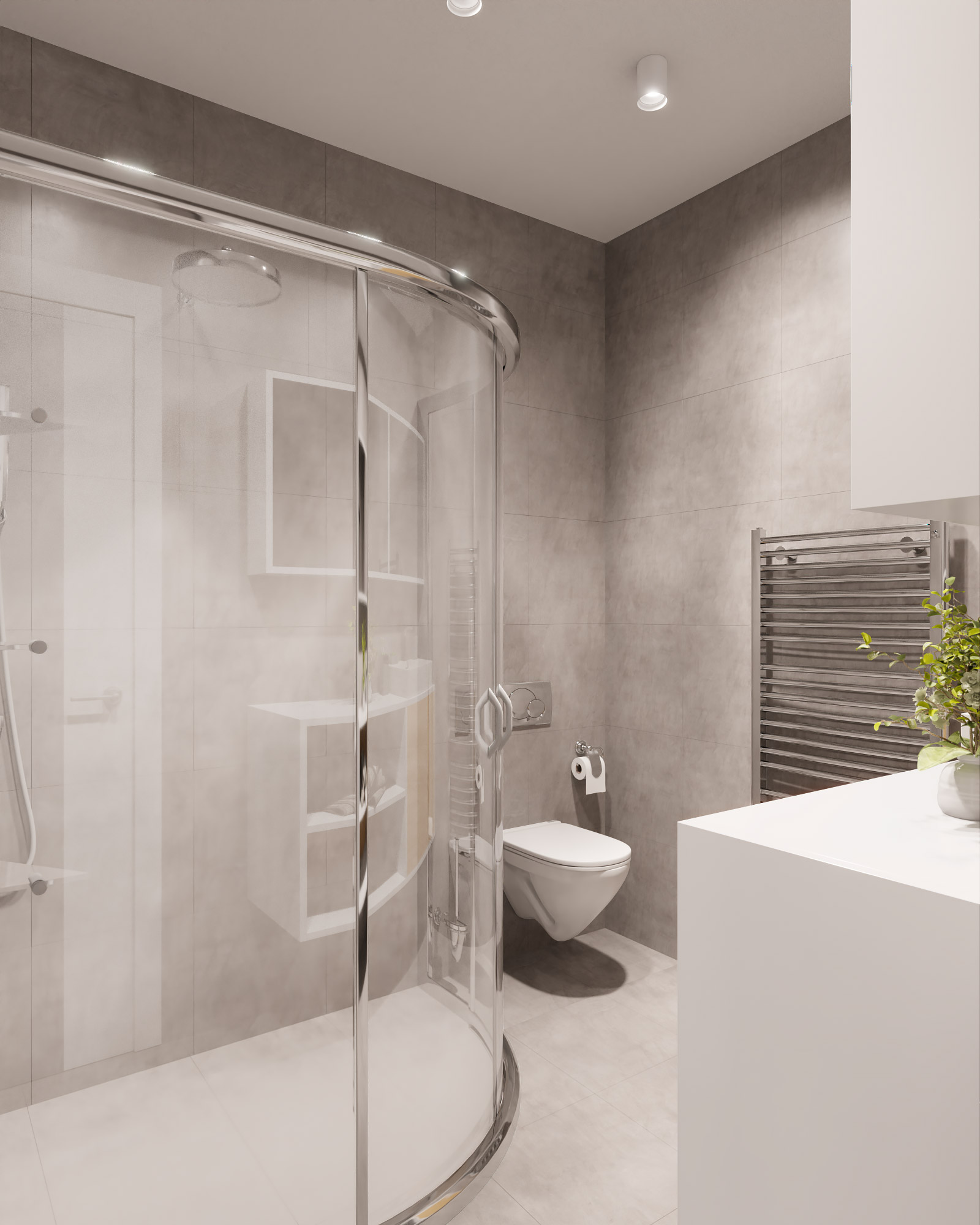 idea3d - vizualizácia kúpeľňa 1 - Nové Vlčince