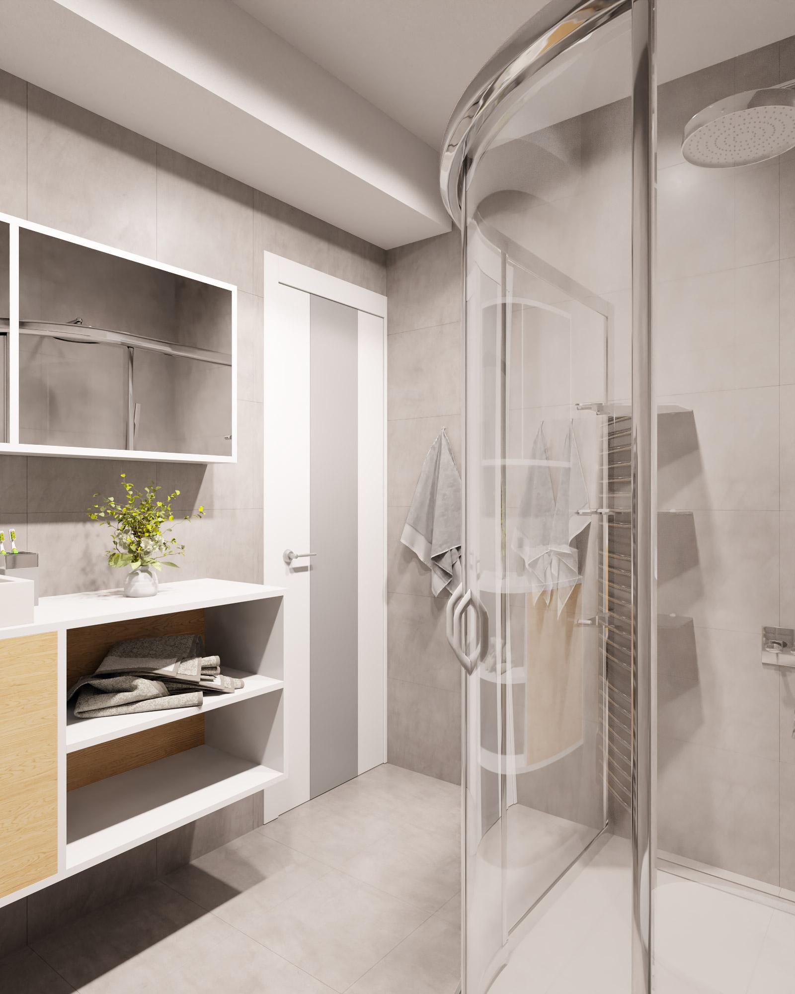 idea3d - vizualizácia kúpeľňa 2 - Nové Vlčince