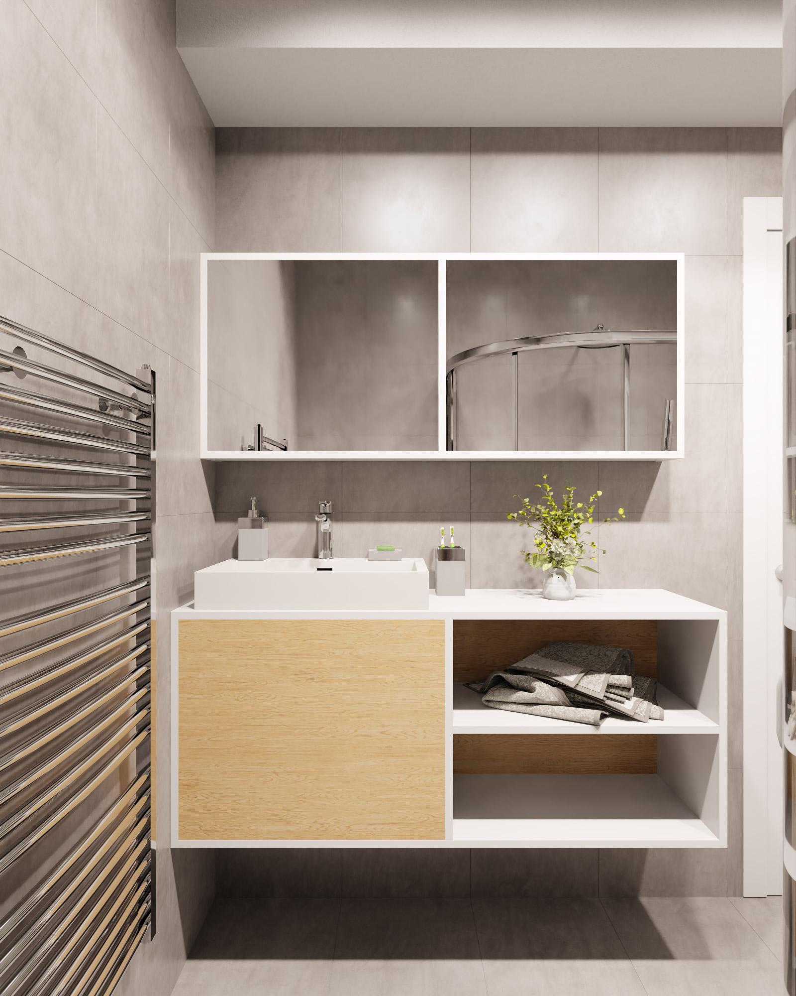 idea3d - vizualizácia kúpeľňa 3 - Nové Vlčince