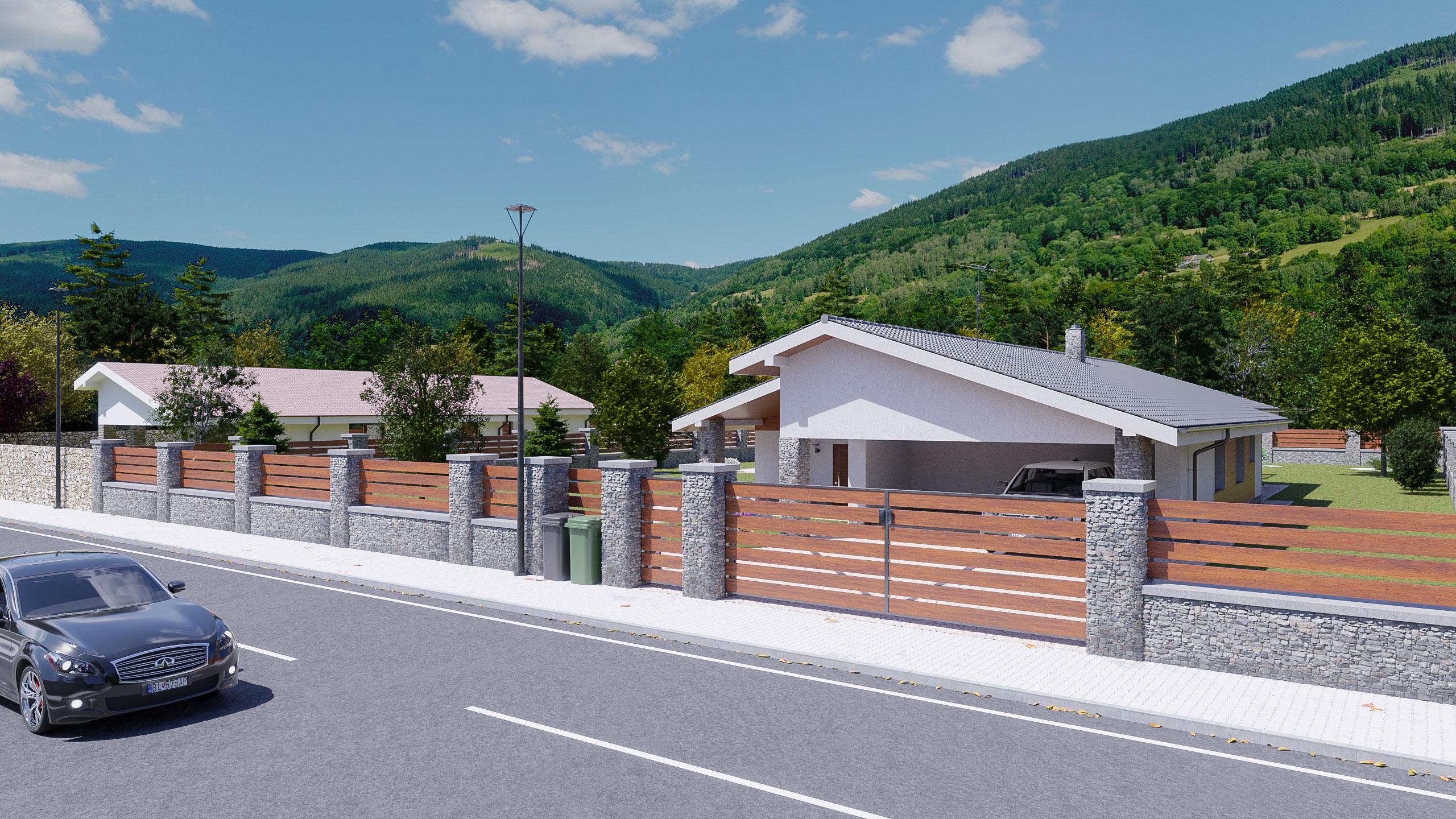 idea3d - vizualizácia rodinný dom 120m2 - deň 5