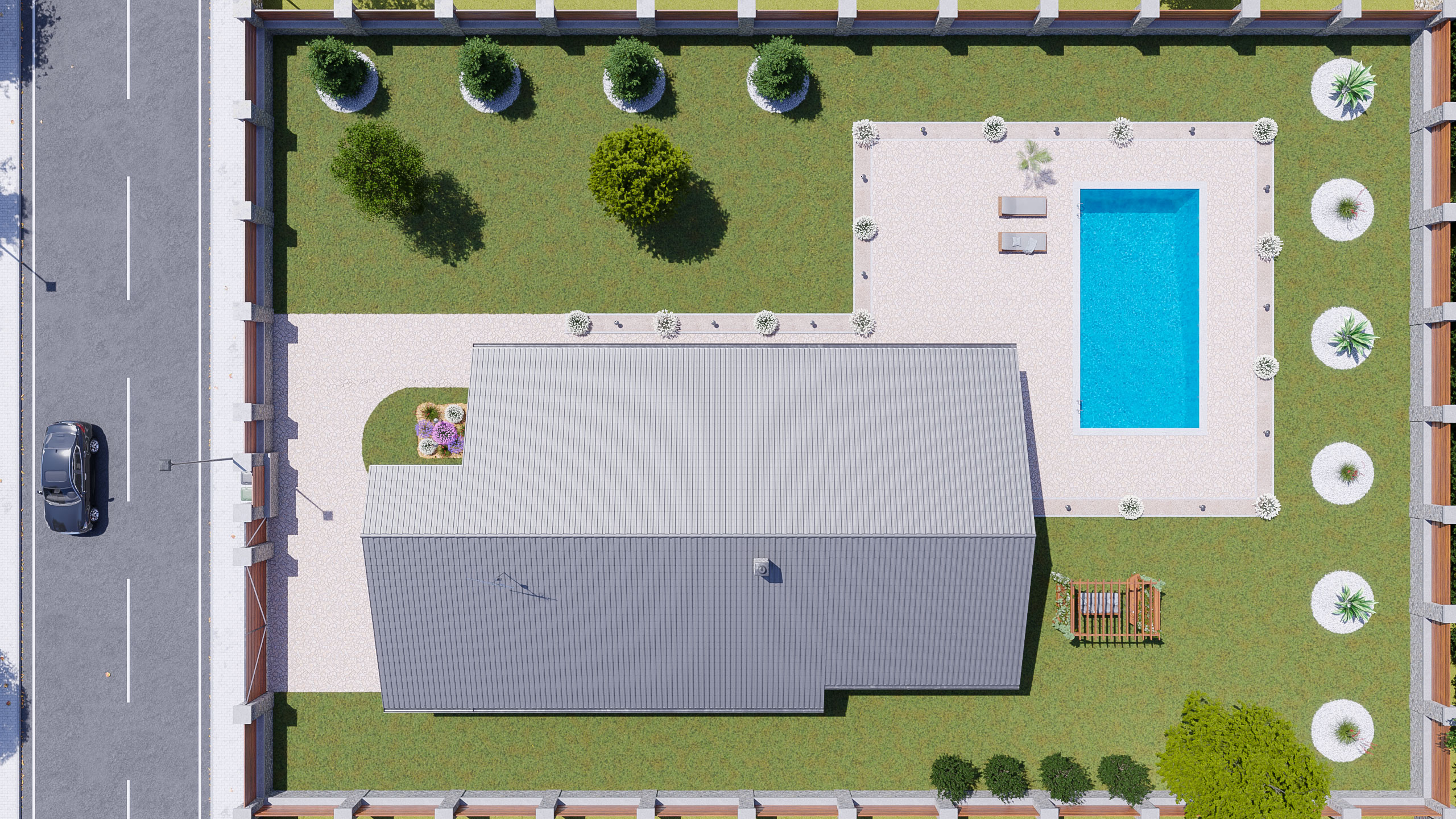 idea3d - vizualizácia rodinný dom 120m2 - deň 7